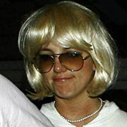 britney is wigging out